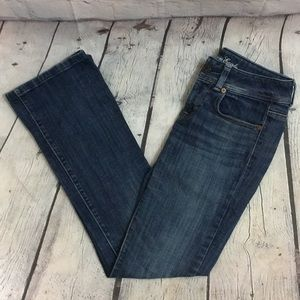 American Eagle Original Boot Cut Jean. Sz: 2 EUC